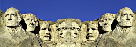Góra dwoisty wizerunek Rushmore obraz royalty free