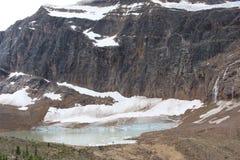 Góra Edith Cavell obrazy stock