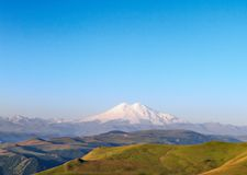 Góra Elbrus, Rosja obraz stock