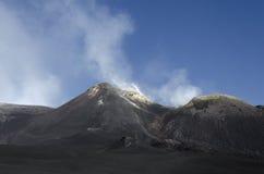 Góra Etna Zdjęcie Royalty Free