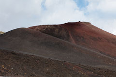 Góra Etna. Sicily. Zdjęcie Royalty Free