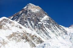 Góra Everest Nepal - sposób Everest podstawowy obóz - obraz stock