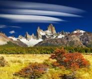 Góra Fitz Roy, Argentyna Obraz Royalty Free
