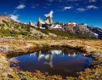 Góra Fitz Roy, Argentyna Zdjęcie Stock