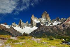 Góra Fitz Roy, Argentyna obrazy royalty free