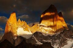 Góra Fitz Roy, Patagonia, Argentyna obrazy stock