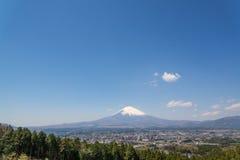 Góra Fuji i Tokio miasto Fotografia Royalty Free