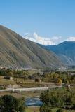 Góra Gongga obrazy stock