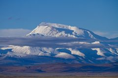 Góra Gurla Mandhata Fotografia Royalty Free