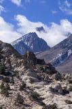 Góra Humphreys W chmurach Obraz Stock