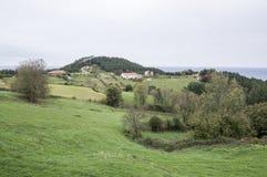 Góra i Cantabrian morze Obraz Royalty Free
