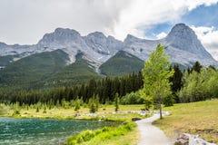 Góra i jeziora Zdjęcia Royalty Free