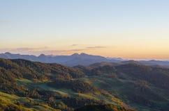 Góra i las Zdjęcie Royalty Free