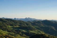 Góra i las Zdjęcia Royalty Free