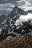 Góra i lodowiec zdjęcie royalty free