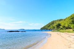 Góra i morze, krajobraz Zdjęcia Stock