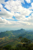Piękne góry w Tajlandia. obrazy royalty free