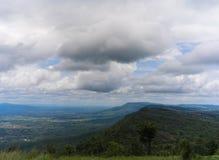 Góra i niebo Obrazy Stock