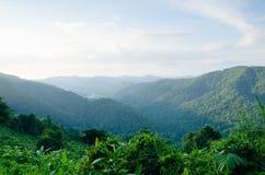 Góra jest punktem widzenia fotografia royalty free