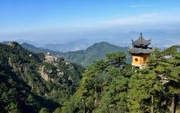 Góra Jiuhua Zdjęcie Royalty Free