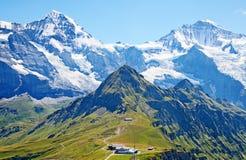 Góra Jungfrau obrazy royalty free