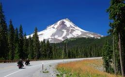 Góra kapiszon w Oregon Zdjęcia Royalty Free
