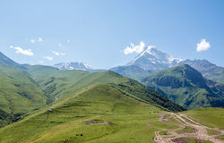 Góra Kazbek Zdjęcia Stock