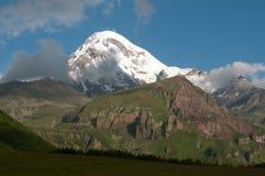 Góra Kazbek, Gruzja - Zdjęcia Stock
