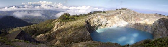 Góra Kelimutu, Indonezja Zdjęcia Royalty Free