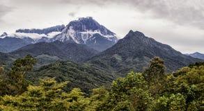 Góra Kinabalu Obrazy Royalty Free