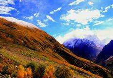 Góra krajobraz Obraz Royalty Free