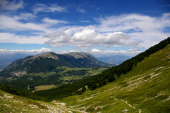 Góra krajobraz Obrazy Royalty Free