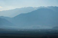 Góra krajobraz - Bucegi góry Fotografia Royalty Free