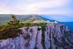 Góra krajobraz na górze góry AI - Petri Obraz Royalty Free