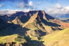 Góra krajobraz na wyspach kanaryjska obraz royalty free