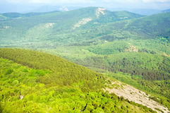 Góra krajobraz. Natura skład. Fotografia Stock