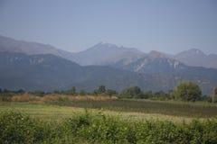 Góra krajobraz od Azerbejdżańskiego Oguz fotografia royalty free
