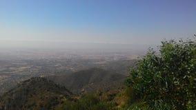 Góra krajobraz od wyspy Cypr zdjęcie stock