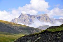 Góra krajobraz w Guba okręgu fotografia royalty free