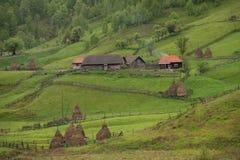 Góra krajobraz w letnim dniu Obraz Royalty Free