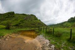 Góra krajobraz w letnim dniu Obraz Stock