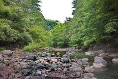 Góra krajobraz w Talysh górach w lecie fotografia royalty free
