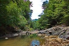 Góra krajobraz w Talysh górach w lecie zdjęcie royalty free