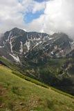 Góra krajobraz w Wysokim Tatras po deszczu Obrazy Royalty Free