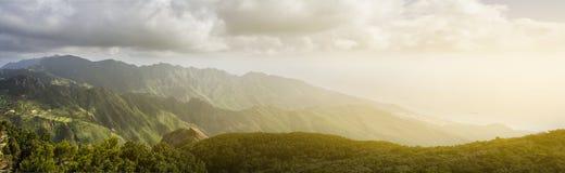Góra krajobrazowy panoramiczny widok Obrazy Stock