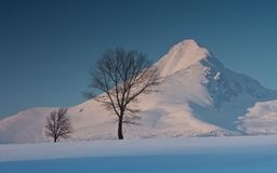 Góra Krivan. Obraz Royalty Free