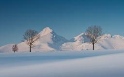 Góra Krivan. Zdjęcie Stock