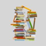 Góra książki royalty ilustracja