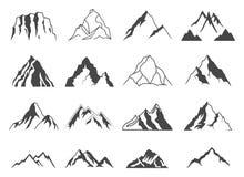 Góra kształty Dla logów Zdjęcie Royalty Free