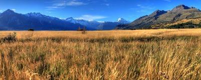 góra kucbarska nowe Zelandii Obrazy Royalty Free